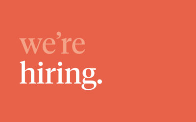 Join Our Team: Creative Strategist/Graphic Designer